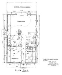 House Floor Plan Thumbnail: 0960-S1-2233