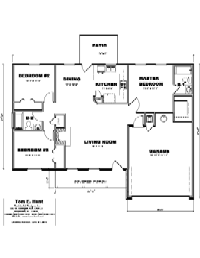House Floor Plan Thumbnail: 1240-S1-2975
