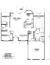 House Floor Plan Thumbnail: 1775-S1-2998