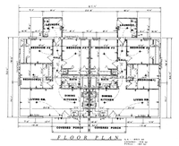 House Floor Plan Thumbnail: 1853-S1-1738