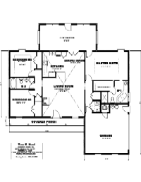House Floor Plan Thumbnail: 1925-S1-2722