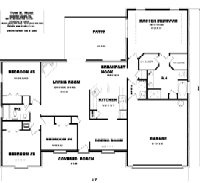 House Floor Plan Thumbnail: 1950-S1-2053