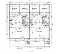 House Floor Plan Thumbnail: 1950-S1-2266