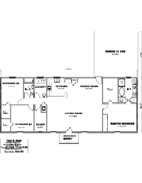 House Floor Plan Thumbnail: 2040-S1-2995