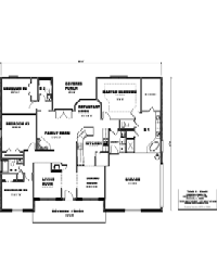 House Floor Plan Thumbnail: 2279-S1-2864