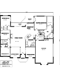 House Floor Plan Thumbnail: 2450-S1-2981
