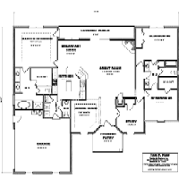 House Floor Plan Thumbnail: 2502-S1-2787