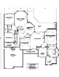 House Floor Plan Thumbnail: 2750-S1-3006