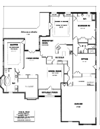 House Floor Plan Thumbnail: 2955-S1-3011