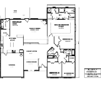 House Floor Plan Thumbnail: 3117-S1-2999