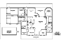 House Floor Plan Thumbnail: 3295-S1-2984